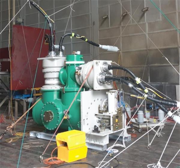 친환경 가스를 이용하는 72.5kV 31.5kA급 개폐장치 [사진=전기연구원]